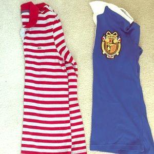 Women's Lacoste shirts